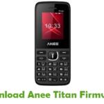 Anee Titan Firmware