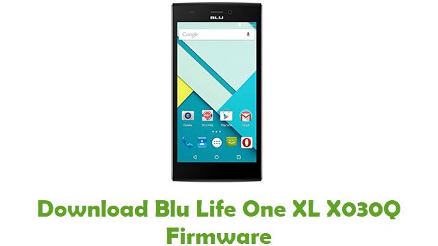 Blu Life One XL X030Q Stock ROM