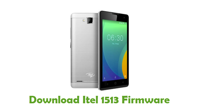 Download Itel 1513 Stock ROM