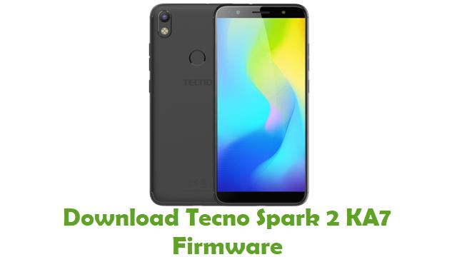 Download Tecno Spark 2 KA7 Firmware