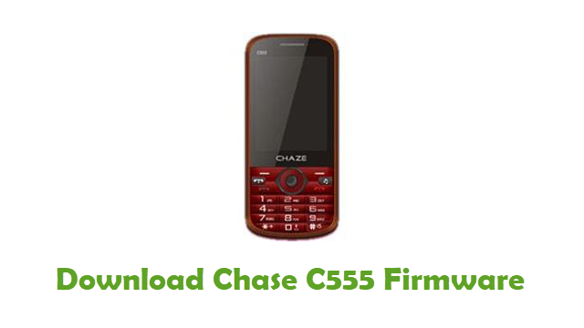 Download Chase C555 Stock ROM