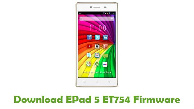 EPad 5 ET754 Stock ROM