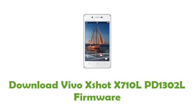 Vivo Xshot X710L PD1302L Stock ROM
