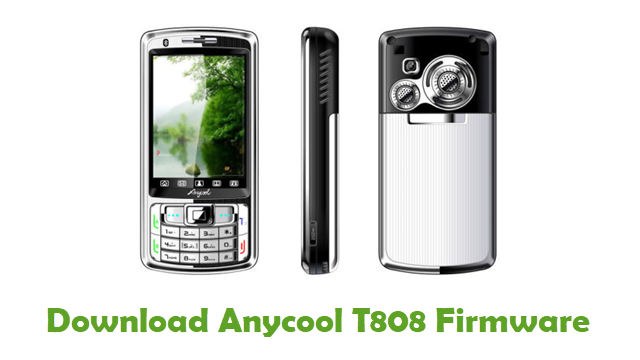 Anycool T808 Stock ROM