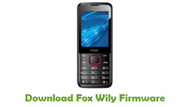 Download Fox Wily Stock ROM