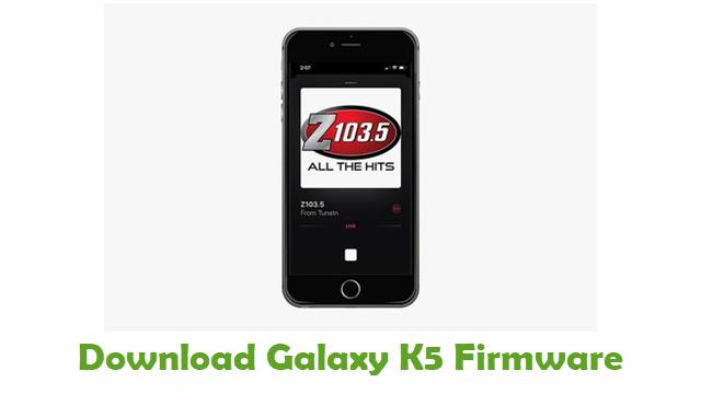 Galaxy K5 Stock ROM