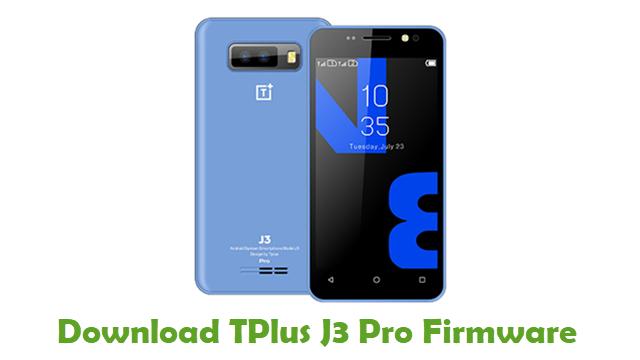 TPlus J3 Pro Stock ROM