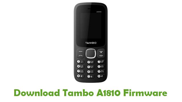 Tambo A1810 Stock ROM