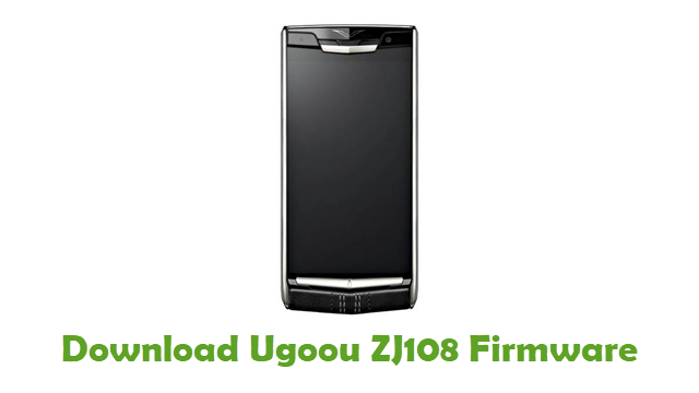 Ugoou ZJ108 Stock ROM