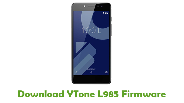Download YTone L985 Stock ROM