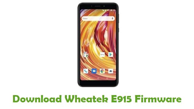 Download Wheatek E915 Stock ROM
