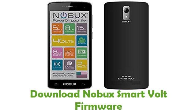 Nobux Smart Volt Stock ROM
