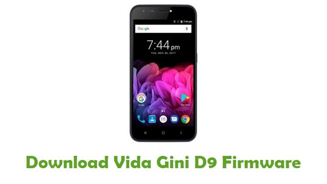 Vida Gini D9 Stock ROM