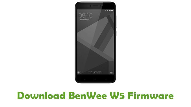 BenWee W5 Stock ROM