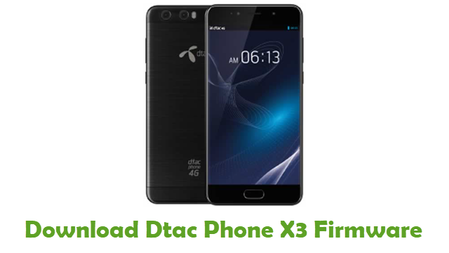 Dtac Phone X3 Stock ROM