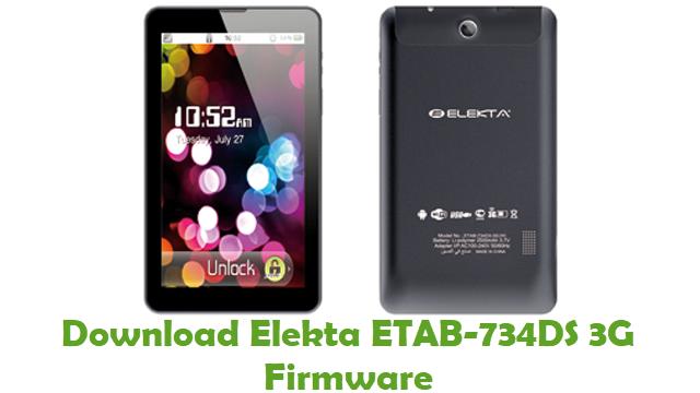 Elekta ETAB-734DS 3G Stock ROM