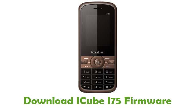 ICube I75 Stock ROM