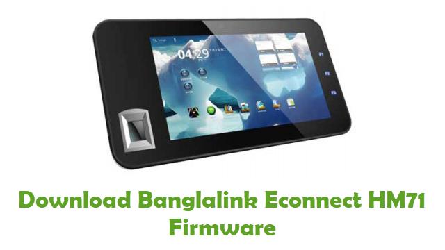 Banglalink Econnect HM71 Stock ROM