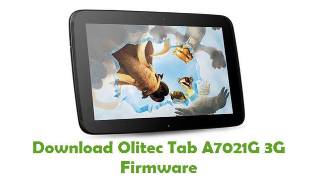 Olitec Tab A7021G 3G Stock ROM