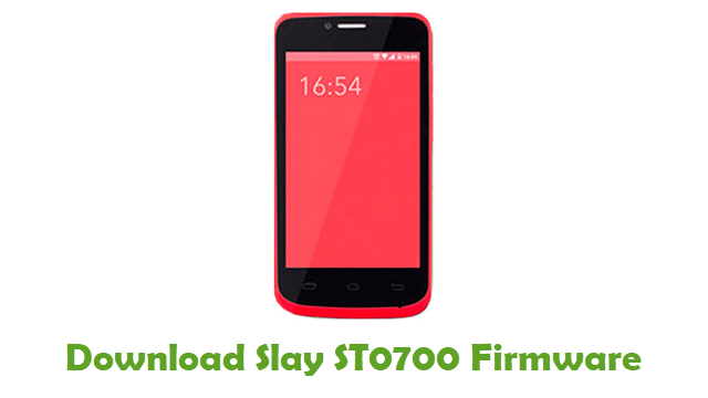Download Slay ST0700 Firmware