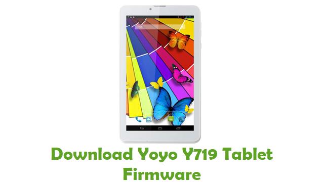 Yoyo Y719 Tablet Stock ROM