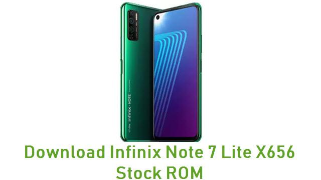 Download Infinix Note 7 Lite X656 Stock ROM
