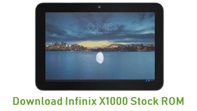 Download Infinix X1000 Stock ROM