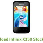 Infinix X350 Stock ROM