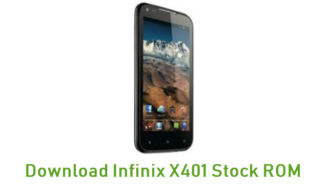 Download Infinix X401 Stock ROM