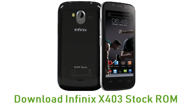 Download Infinix X403 Stock ROM
