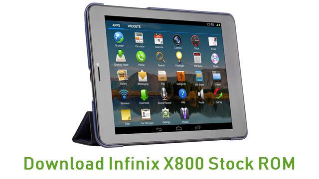 Download Infinix X800 Stock ROM