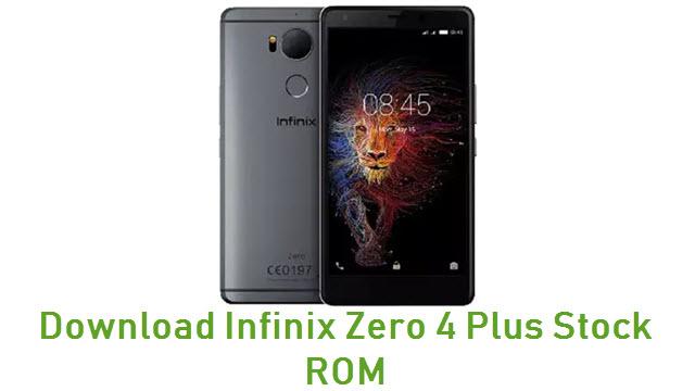 Download Infinix Zero 4 Plus Stock ROM