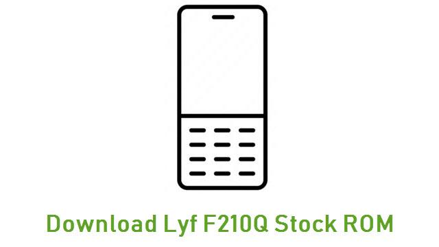 Download Lyf F210Q Stock ROM