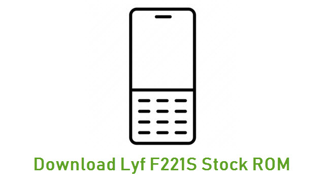 Download Lyf F221S Stock ROM