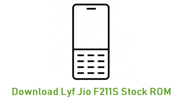 Download Lyf Jio F211S Stock ROM