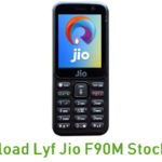 Lyf Jio F90M Stock ROM