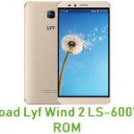 Lyf Wind 2 LS-6001 Stock ROM