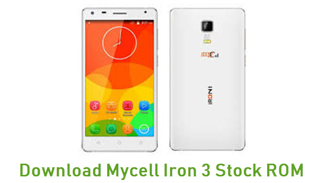 Download Mycell Iron 3 Stock ROM