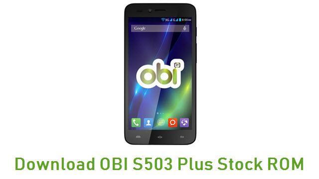 Download OBI S503 Plus Stock ROM