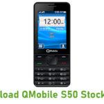 QMobile S50 Stock ROM