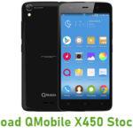 QMobile X450 Stock ROM