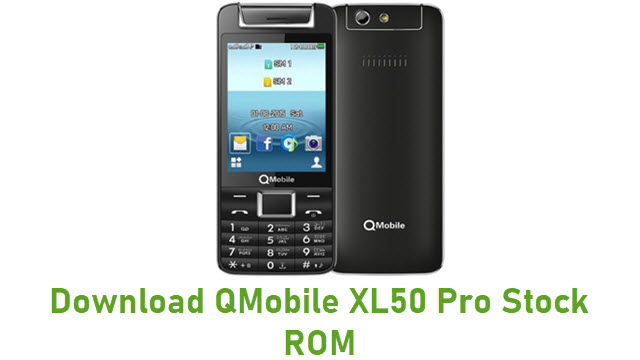 Download QMobile XL50 Pro Stock ROM