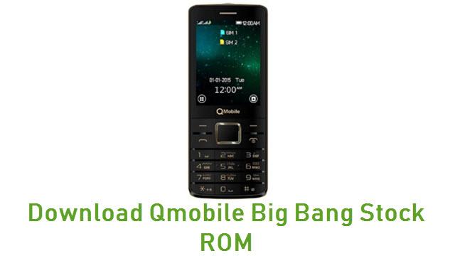 Download Qmobile Big Bang Stock ROM