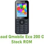 Qmobile Eco 200 Classic Stock ROM