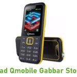 Qmobile Gabbar Stock ROM