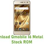 Qmobile I6 Metal 2018 Stock ROM