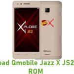 Qmobile Jazz X JS2 Stock ROM