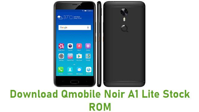 Download Qmobile Noir A1 Lite Stock ROM