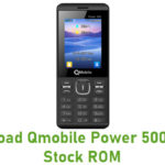 Qmobile Power 500 Music Stock ROM