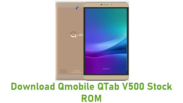 Download Qmobile QTab V500 Stock ROM